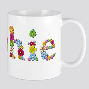 Sophie Bright Flowers Mugs